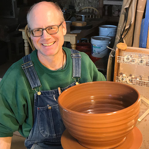 Meet The Potter of Windy Hill Pottery