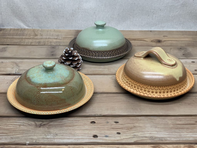Windy Hill Pottery Butter Dishes