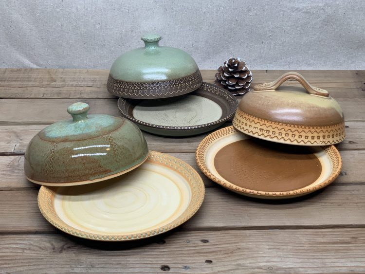 Windy Hill Pottery Butter Dishes 2