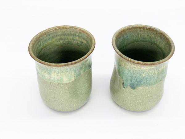Green Meadow Pinch Cups