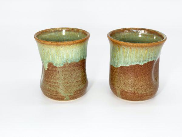 Autumn Leaf Pinch Cups