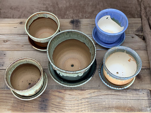Windy Hill Pottery - Flower Pots Inside