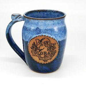Colorado Seal Mug - Blue Water