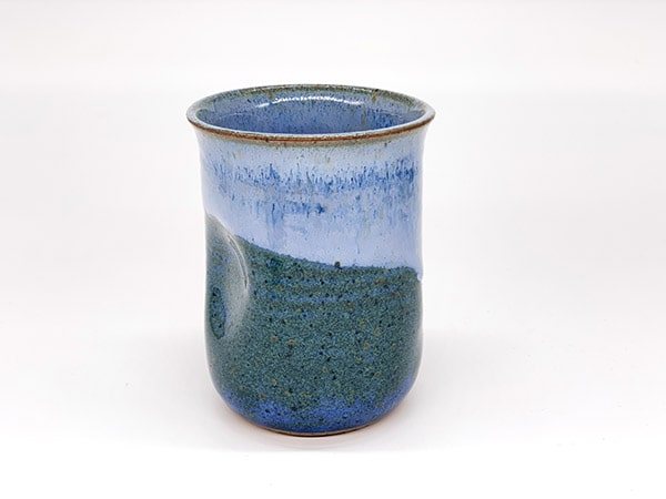 Blue Water Pinch Cups