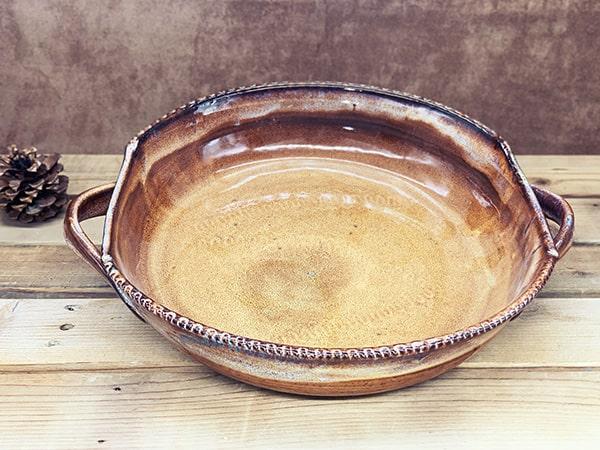Windy Hill Pottery - Cinnamon Baking Platter