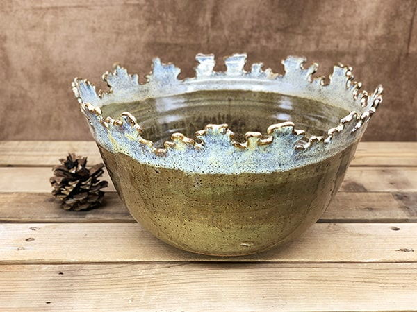 Windy Hill Pottery - Puzzle Bowl
