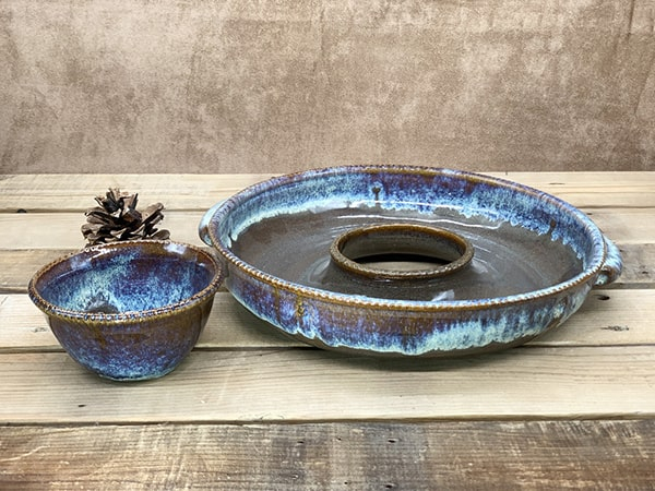 Windy Hill Pottery - Donut Platter 2 Pieces