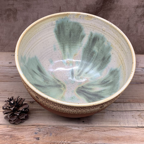 Windy Hill Pottery - Serving Bowl Inside