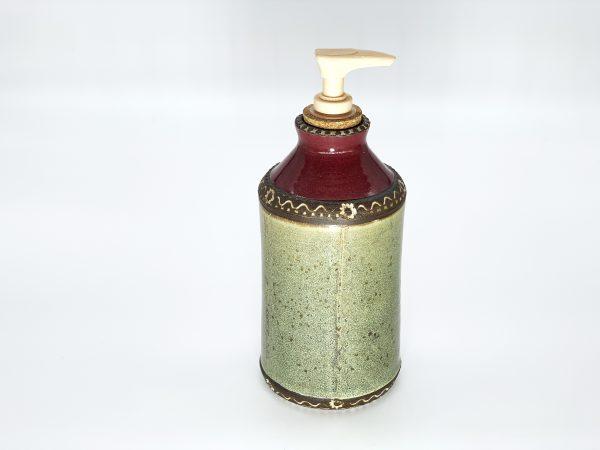 Red Green Soap Dispenser
