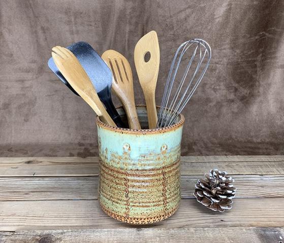 Windy Hill Pottery - utensil holder